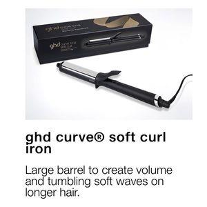 GHD curve soft curl iron, NIB